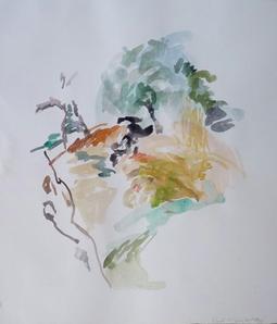 22.08.10 2010 69 x 57,5 cm Aquarell / Papier
