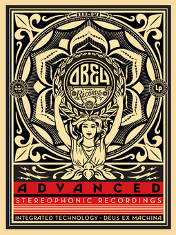 Shepard Fairey Lotus Woman