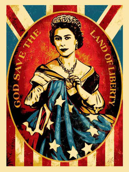 Shepard Fairey God Save the Queen