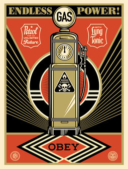 Shepard Fairey Endless Power