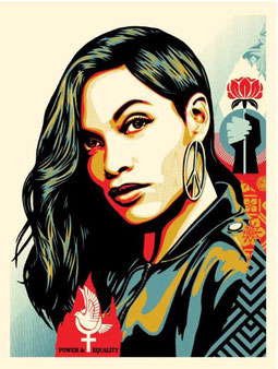 Shepard Fairey, Power & Equality Dove, , 2019