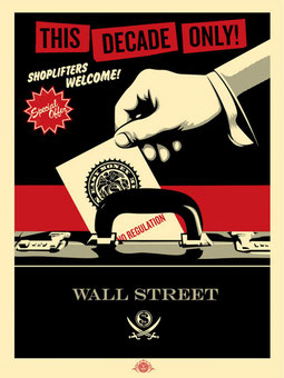 Shepard Fairey Shoplifters Welcome