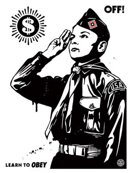 Shepard Fairey Learn to Obey