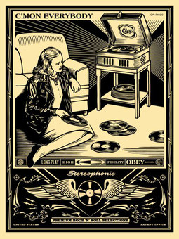 Shepard Fairey C´mon Everybody