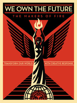 Shepard Fairey We Own the Future