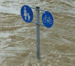 Hochwasser -  Foto Pixabay