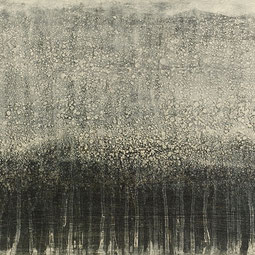 号泣の河 -部分-            Mixed media / 38x61cm