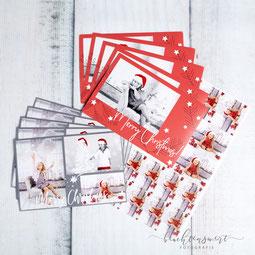Weihnachtskarte, Kinderfotograf, Nordfriesland, Studio, beachtenswert fotografie, Christmas, Christmas-Shooting, Fotoshooting, Sticker, Merry Christmas