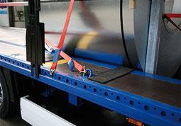 Coiltransporte, Stahlcoils, Aluminiumcoils, Blechpakete