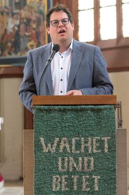 Pfarrer Lars Hillebold