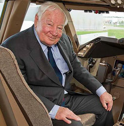 The 'Father of the 747' has died  -  courtesy Boeing