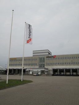 Swissport's flag will soon be lowered at Copenhagen Airport  /  source: Swissport