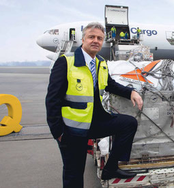 CEO Stephan Haltmayer of Quick Cargo Service