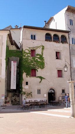 Casa Menotti, Spoleto. Foto di Angelo Paionni