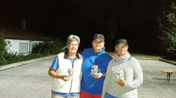 v.l. Karin, Petra und Liane