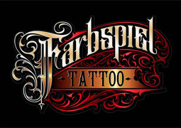 Farbspiel Tattoo Coverup Album Logo