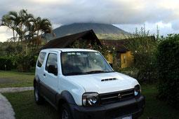 Costa Rica, Arenal, Allrad, Jeep, Fahrzeug