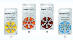 Hörgerätebatterien Powe One für nur 5 Franken