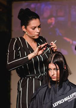 Christina Art-Directorin Lepschi&Lepschi Friseur