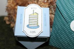 Diamandbox mit zeitlosem Etikett