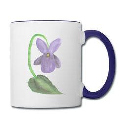 Tasse Veilchen der Kaffeetassen-Shop von Syelle Beutnagel