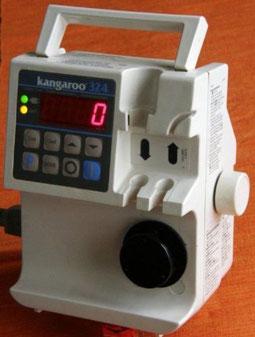 Ernährungspumpe Kangaroo 324 vollelektronische peristaltische Rollenpumpe medizinischer Bedarf für Krankenhaus und Praxis