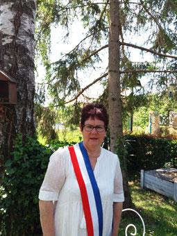 Nelly Guedrat élue maire de Montlevon.