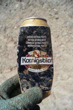 """""""Semer des canettes de bière, ce n'est pas bon pour la planète """" dirait Evelyne Délhiat..."""