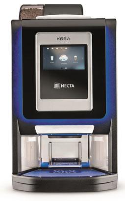 Kaffeevollautomat N&W Krea Touch für Unternehmen, Firmen, Büros, Hotels, Stehcafes, öffentliche Plätze, Schulen etc.