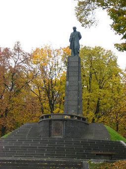 МогилаТ. Г. Шевченка на Чернечій горі в м. Каневі