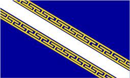 Flagge der Region Champagne Ardenne