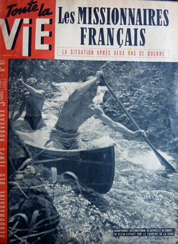 GIGNOUX, Un kayac pour monture un torrent pour piste, in Toute la vie n° 97, 1943 (la Bibli du Canoe)
