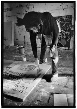 Jean-Michel Basquiat ©︎ Roland Hagenberg