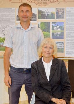 Inessa Natalich und Sohn Alexander