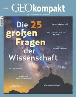 GEO Kompakt Nr. 65 Die 25 großen Fragen der Wissenschaft