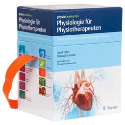 physioLernkarten - Physiologie für Physiotherapeuten von Adolf Faller und Michael Schuenke