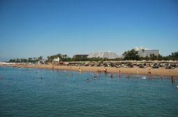 Strand von Belek - Türkei