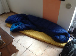 Couchsurfing Italien Gardasee therm-a-rest NeoAir Xlite Yeti Tension Comfort 500 600 800