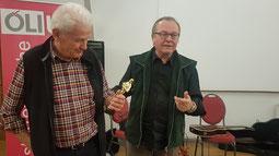 Reinhart Sellner und Wilfried Mayr  Foto: Sparr