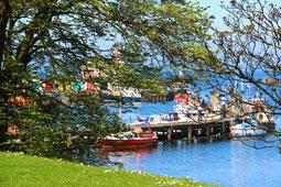 Hafen von Girvan
