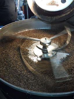 Bei Wackers wird Kaffee geröstet (Foto: S. Schmidt)
