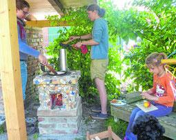 Karin Merklein hat im Bauernhofkindergarten Aschwarden ein interessantes Jahr erlebt.