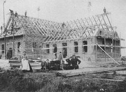 11.08.1894 - Richtfest (Betsaal mit Pastorenwohnung)