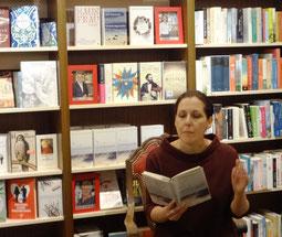 Christiane Neudecker bei der Lesung