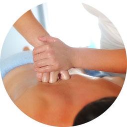 Bild: Rückenschmerzen, Verspannung, Blockade, Breuss-Massage, Dorn-Therapie