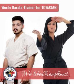 karate lehrer karate lehrerin in der towasan karate schule muenchen