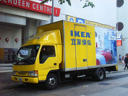 Transport servive Ikea [Licence creative commons]