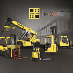 used forklift Hyster - used reachstacker