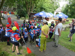Die kleinen Freestyler bei Ridermeeting