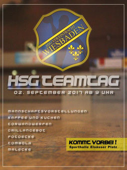 HSG-Teamtag 02.09.2017 Elsässer Platz HSG VfR/Eintracht Wiesbaden Handball